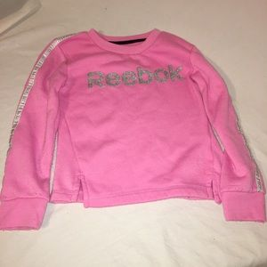 Girls Reebok sweater size 6